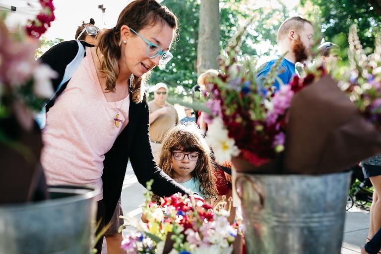 Madison Family Photographer Summer Saturdays Newborn